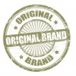 Original brand stamp — Stock Vector #6279977