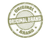 Original brand stamp — Stock Vector