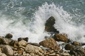 Stones in a sea — Stock Photo