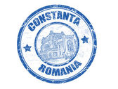 Constanta stamp — Stock Vector