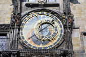 Astronomical Clock Detail — Stock Photo