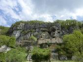 La Roque Sant-Christophe — Zdjęcie stockowe