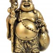 Figurine in the form of gold — Stock Photo