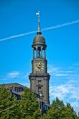 Hauptkirche St. Michaelis — Stock Photo