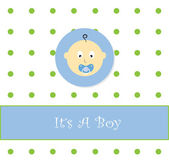 It's A Boy — Stock Vector