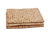 Three matzot — Stock Photo
