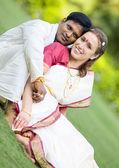 Индийская свадьба — Стоковое фото