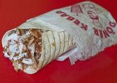 Turkish durum kebab — Stock Photo