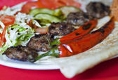 Turkish kofte (meat ball) — Stock Photo