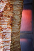 Turkish doner kebab — Stock Photo