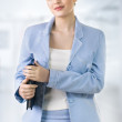 Portrait of a attractive business woman. — Stock Photo