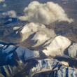 Aerial photo of the landscape in Tibet — Foto de stock #6721742
