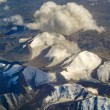 Aerial photo of the landscape in Tibet — ストック写真