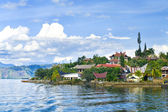 Island Samosir, Lake Toba. Sumatra — Stock Photo