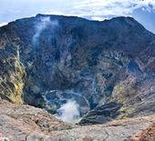 Vulcano kerinci. — Foto Stock