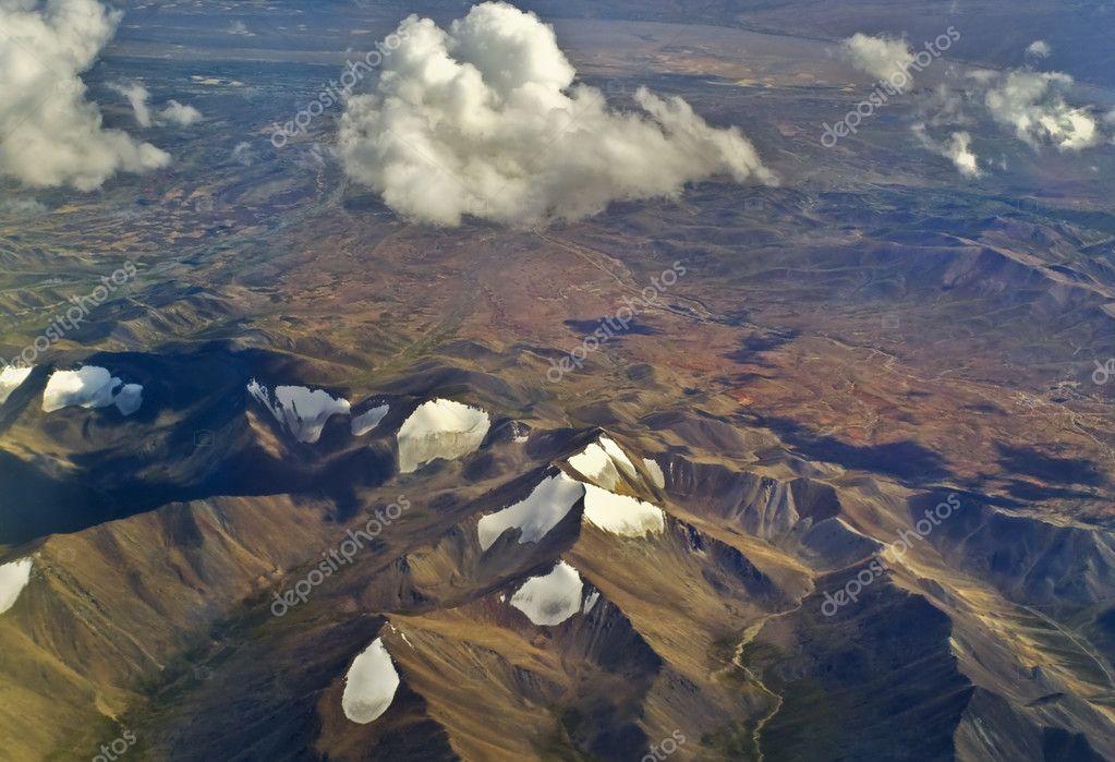 西藏风景 - 图库图片