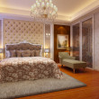 Rendering of home interior focused on bed room  — Stock Photo