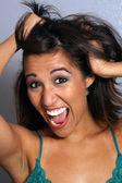 Beautiful Latina, Headshot (7) — Stock Photo