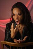 Multiracial Female Vampire (2) — Stock Photo