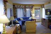 Condo Living Room — Stock Photo