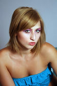 Beautiful Blonde Headshot (3) — Stockfoto