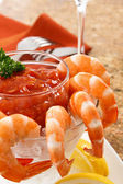 Delicious Shrimp Cocktail — Stock Photo