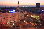 Night lights of the city of Kazan — Stockfoto