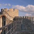 Watch tower at Medieval Citadel — Stock Photo
