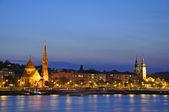Budapest night scene #3 — Foto de Stock