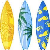 Surfboard — Stock Vector