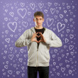 Stockfoto: Fall in love male