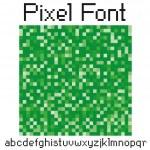 Pixel font — Stock Vector #5628939