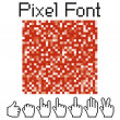 Pixel font - 