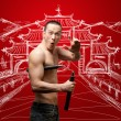 Shaolin-Mönch — Stockfoto #5685474