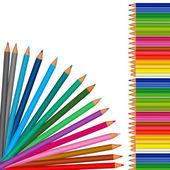 Ołówki — Wektor stockowy