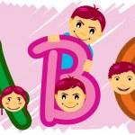 ABC alfabet — Stock Vector