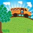 School bus - Stock Vector
