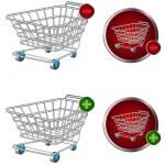 Shopping baskets — Stock Vector #6354807