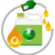 Biodiesel — Stock Vector