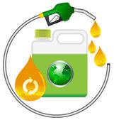 Biodiesel — Stock Vector