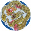 Chinese traditional Dragon — Stockfoto