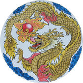Chinese traditional Dragon — Stock Photo