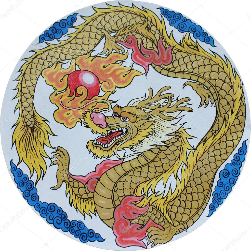 Chinese traditional Dragon  Stock Photo #6440895