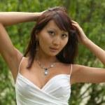 Portrait of oriental women — Stock Photo