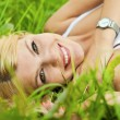 Pretty blonde girl — Stock Photo #6181297