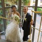 Happy newlyweds — Stock Photo #6297002