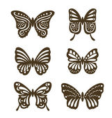 Vintage Butterfly — Stock Vector