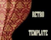 Retro template (see portfolio retro collection) — Zdjęcie stockowe