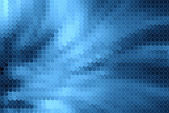 Blue halftone — Stock Photo