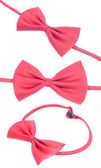 Red bow-tie — Stock Photo